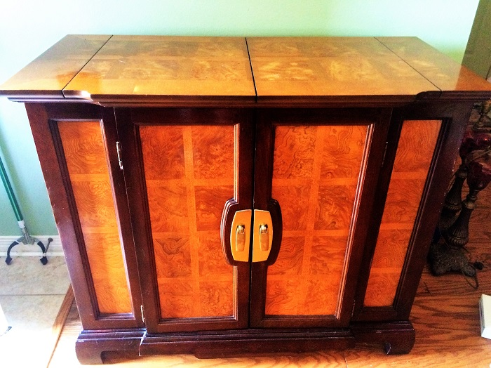Cocoa Brown Cabinet