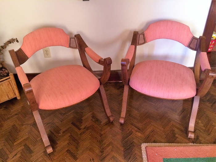 Pink Chair Set